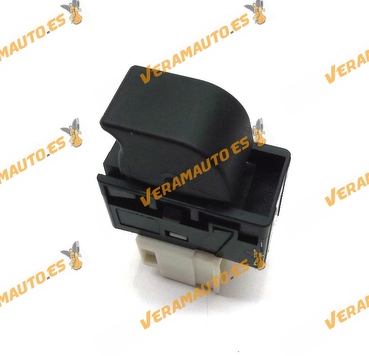 Botonera Interruptor Elevalunas Nissan D22 Terrano Pick Up 5 pin similar a 254110m010