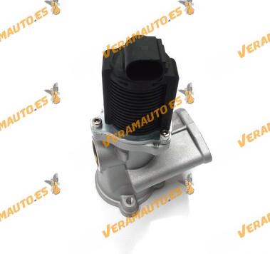Valvula EGR de recirculación de gases motores 1.3 Diesel Opel Alfa Fiat Lancia Rover similar a 55192348