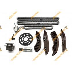 Kit distribución por cadenas BMW y Mini tres cadenas BMW E81 E87 E90 E91 E60 X1 X3 X5 Mini R56 R57 R59 R60 R55 11317797897