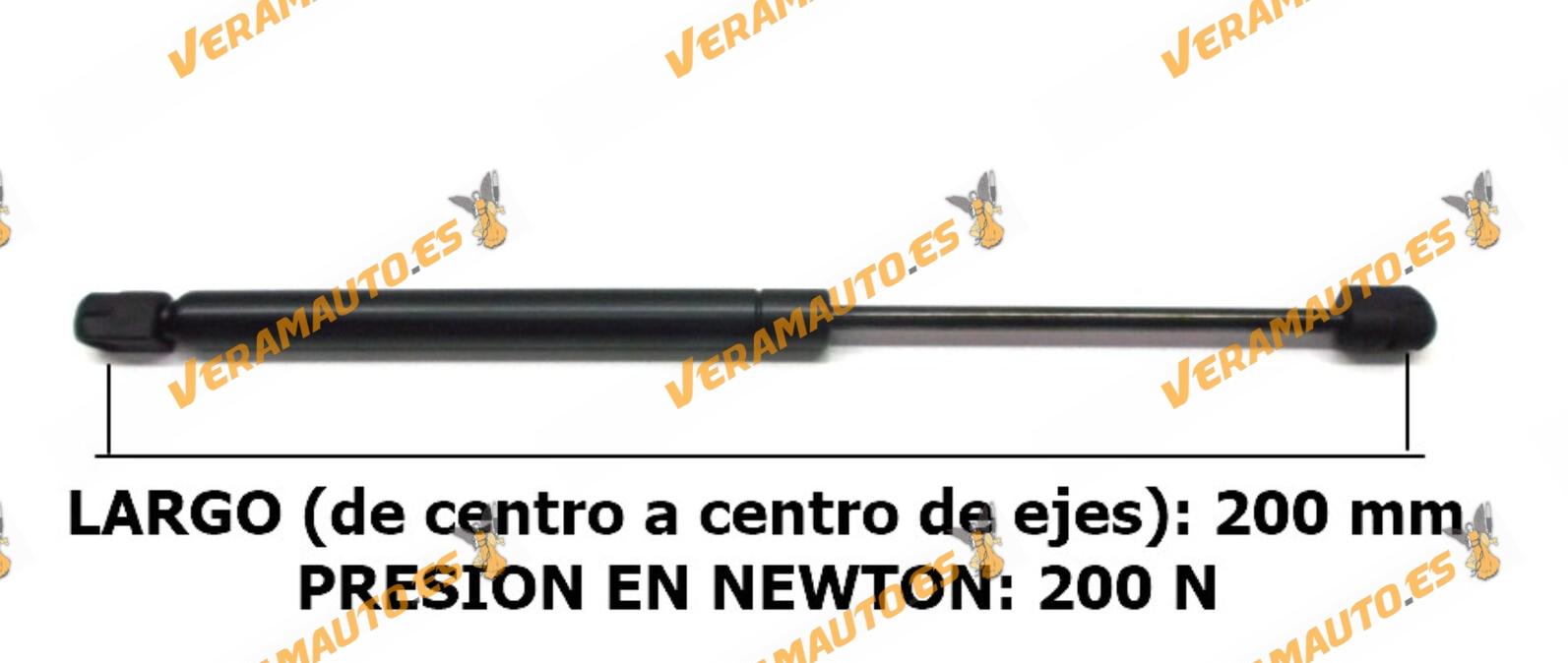 Amortiguadores De Porton Universales - Medidas desde 200 mm hasta 450 mm