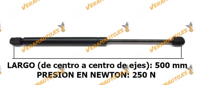 Amortiguadores De Porton Universales - Medidas desde 500 mm hasta 700 mm