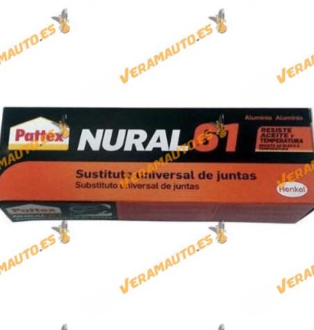 Nural 60 sellador sustituto universal de juntas color negro