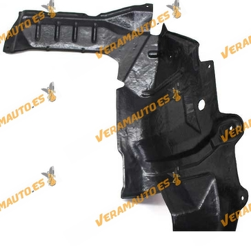 Protección lateral de motor Nissan Almera N16 de 2000 a 2007 derecho motores gasolina