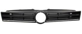Rejilla Frente Volkswagen Polo 6R años 2014 a 2017 negra con Perfil Cromado inferior sin Anagrama OEM 6R0853651D