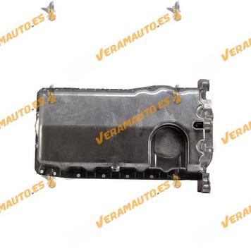 Cárter Aceite Sin hueco Sensor Audi, Volkswagen, Seat, Ford y Skoda 038103601NA 038 103 603 NA Motores 1.6 1.9 2.0 TDI SDI