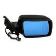 Espejo retrovisor BMW X5 E53 derecho, imprimado, eléctrico, térmico con cristal azul, conexión 5 pin OEM 51167039890
