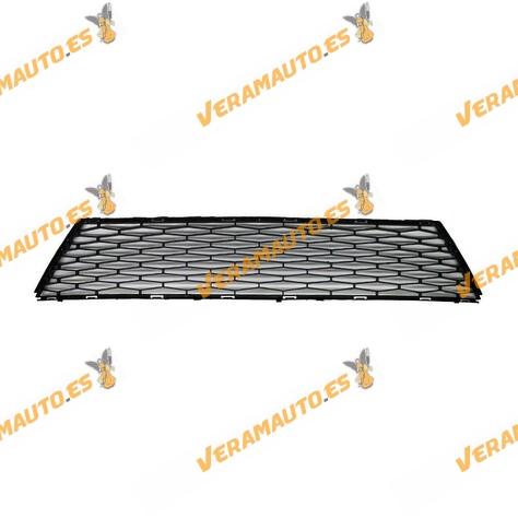 Rejilla central de paragolpes Seat Ibiza Desde 2012 hasta 2015 negra Similar a 6J0853667C9B9