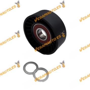 Polea Tensor de correa de accesorios BMW E46 E90 E60 X3 E83 Similar 11287786881