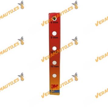 Cinta doble cara multiusos para uso interno, rollo 5m largo por 6 - 9 ó 12mm ancho a elegir