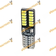 Lámpara Led Canbus T-10 Luz Blanca 24 Led SMD3014