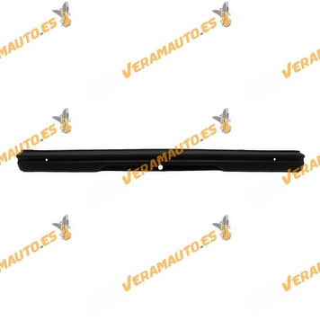 paragolpes peugeot 205 trasero con agujeros para moldura de fibra de vidrio / poliester negro