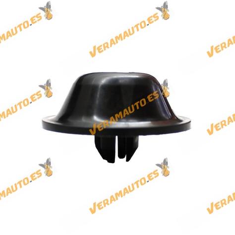 Tope plástico sujección de paragolpes delantero Seat Cordoba, Ibiza, Volkswagen Polo, Caddy OE 867 807 176