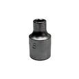 "Llave de vaso hexagonal serie corta 1/2"", de 8 a 32 mm, llave profesional fabricada en Cromo para apriete manual mango de 1/2"""