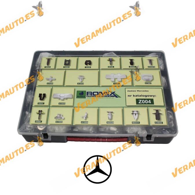 Maletin de grapas de tapizados, molduras y paneles para Mercedes