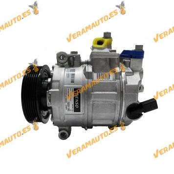 Compresor, aire acondicionado DENSO DCP32045 para grupo VAG A3, TT, Q3, Alhambra, Altea, Leon, Toledo 1K0820803E