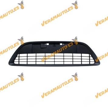 Rejilla Central Paragolpes Ford Focus de 2007 a 2011 modelo Sport Type X Negra sin moldura cromada