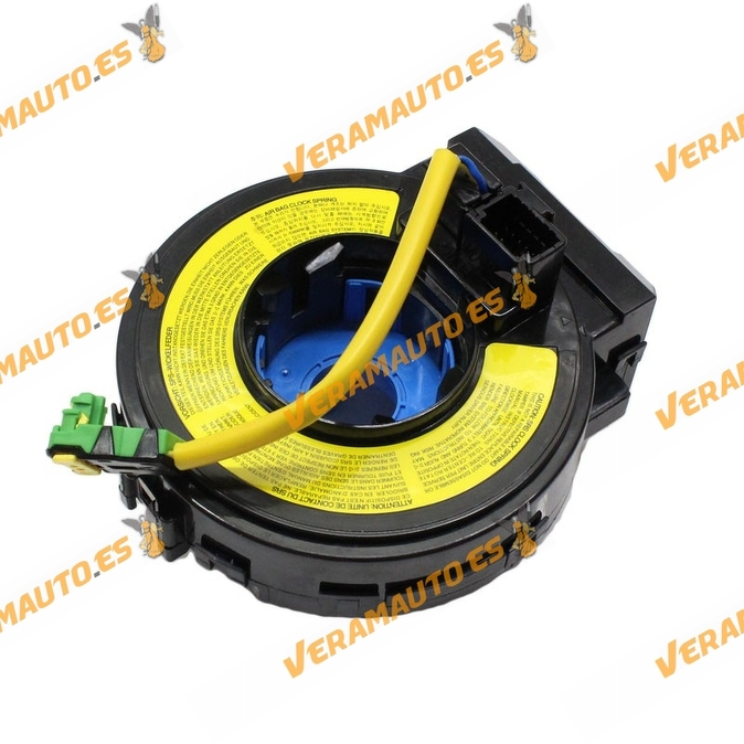 Anillo espiral airbag Hyundai Santa Fe 2006 a 2012 Oem 93490-2B250