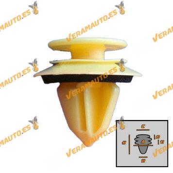 roc70308-b-set-grapas-10-piezas-mercedes-w164-ml-y-gl-moldura-de-maletero-y-puerta-oem-similar-a-a0009916398