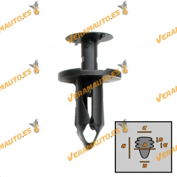 roc10129-b-set-grapas-10-piezas-audi-honda-mazda-nissan-seat-vw-oem-similar-a-8e0825267