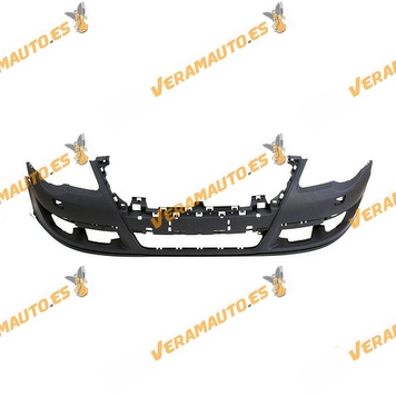 Bumper Volkswagen Passat B6 from 2005 to 2010 Front with holes for Sensor Parking y de Lavafaros OEM Similar 3C0807217G