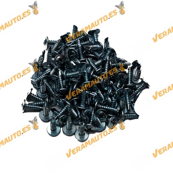 Set de 100 Grapas Roscante Metalica 4,2x16mm