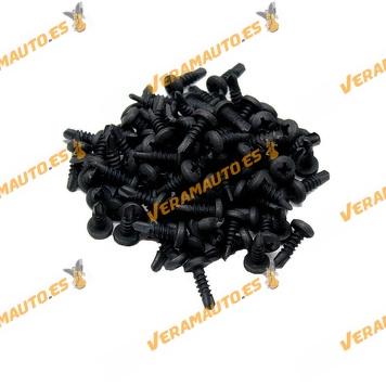 Set de 100 Tornillos de montaje metálicos | M8 4,2x13mm | Universales