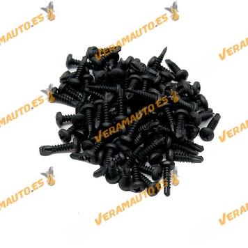 Set de 100 Grapas Roscante Metalica 4,2x16mm