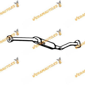Silencioso Escape Saab 9000 Cs 2.0 2.3 16 V Intermedio De 1988 A 1998 Similar A 8979700 8979650 8822249