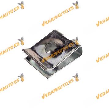 Set de 25 Grapas Roscante Metalica 4,2mm