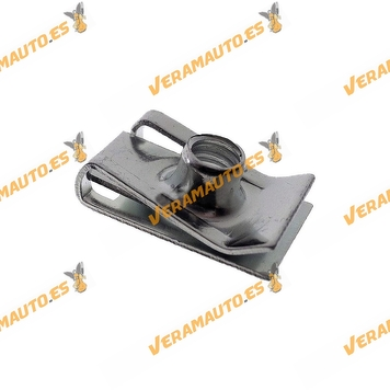 Set de 10 Grapas Roscante Metalica 6mm