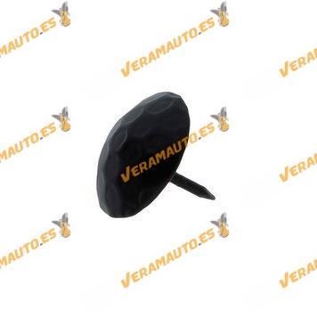 Clavo de acero negro para remaches en mobiliario rústico