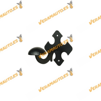 Colgador de Ropa Negro | Modelo 100 | Acero | Amig
