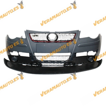 Front Bumper volkswagen Polo GTI 2005 to 2009 Complete with Grille and Frames without Antifog Lights