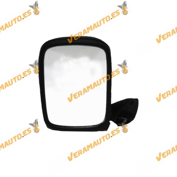 Rear view Mirror Ford Fiesta from 2002 to 2006 Right with Mechanical Control Black