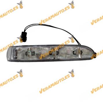 copy of Tapa o Carcasa Espejo Retrovisor Mercedes S W220 Del 2002 Al 2005 Con Intermitente Y Luz de cortesia Derecho