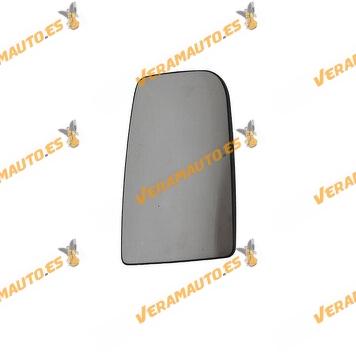 Cristal de Espejo + Base Mercedes Sprinter | Volkswagen Crafter | Izquierdo Convexo Térmico | OEM A0028115233 2E0857587D