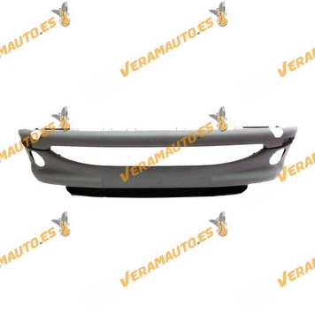 Bumper Peugeot 206 from 1998 to 2009 Front with Anti Imprimado OEM Similar 7401N3