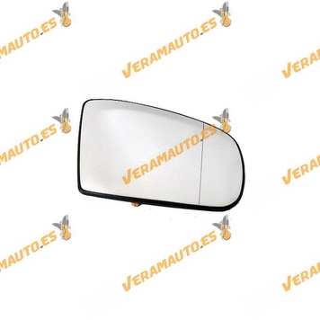 Rear Mirror Glass Mercedes ML W163 years 2001 to 2005 Asferic Thermic Right OEM Similar to 1638102819