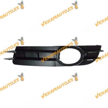 Bumper grille Audi A6 from 2004 to 2008 with antifog hole Front Left Petrol model Similar to 4f0807681a