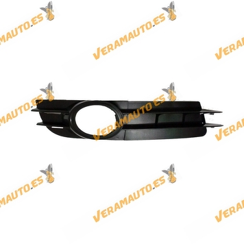 Grille Bumper Audi A6 from 2004 to 2008 with antifog Hole Front right Petrol model Similar to 4f0807682a