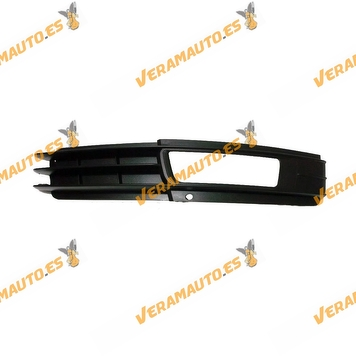 Bumper Grille Audi A6 from 2008 to 2011 with Right Antifog Hole Similar to 4f0807682