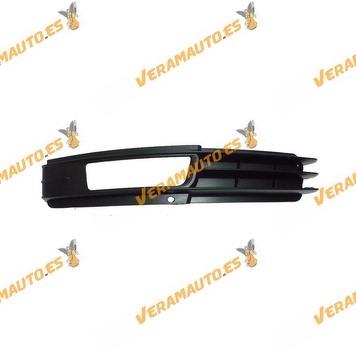 Bumper Grille Audi A6 from 2008 to 2011 with Left Antifog Hole Similar to 4f0807681
