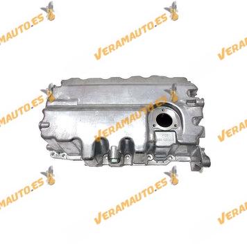 Carter aceite con Hueco Sensor Audi A1 A3 Q3 TT Seat Altea Alhambra Ibiza Leon Toledo motores TDi 1.6 y 2.0 OEM 03G103603H