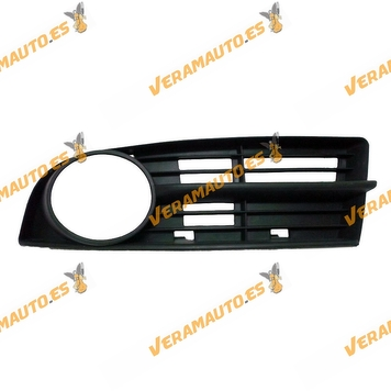 Bumper Grille Volkswagen Touran from 2003 to 2006 Left with Antifog Hole