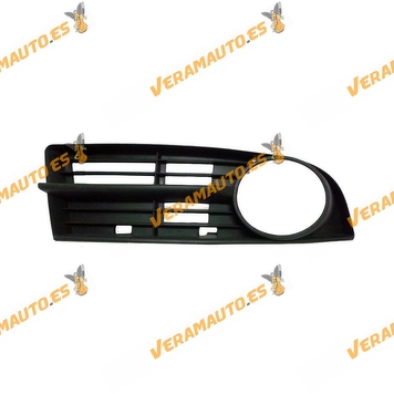 Bumper Grille Volkswagen Touran from 2003 to 2006 Right with Antifog Hole