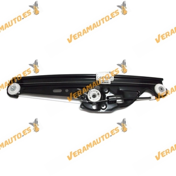 Window Operator BMW E60 Serie 5 from 2003 to 2010 Rear Right without Engine 4 Doors OEM Similar to 51357184746