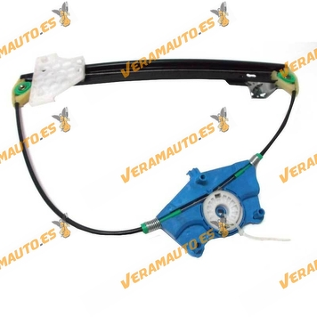 Electric window operator Audi A4 from 2001 to 2008 Seat Exeo Rear without left engine OEM similar to 8e0839461c