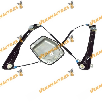 Electric Window Operator Volkswagen Golf V from 2003 to 2008 Front Left without Engine 4 Doors OEM Similar to 1k4837461A