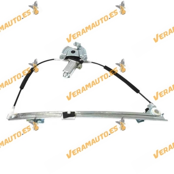 Electric Window Operator Renault Megane from 1995 to 2002 Front left 4 Doors Complete with engine OEM similar to 7700834347