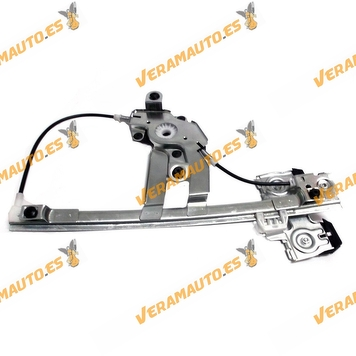 Electric Window Operator Skoda Octavia from 1997 to 2004 Rear Right without Engine OEM Similar to 1U0839462B